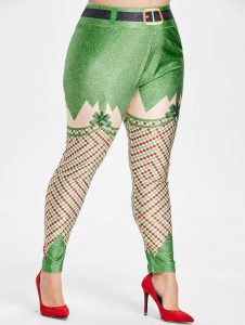 Christmas Leggings In XL