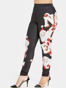 Christmas Leggings Plus Size