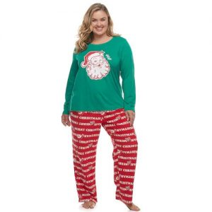 Christmas Plus Size Pajamas