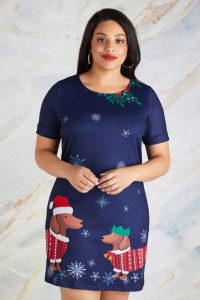 Christmas Tunic Dress