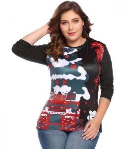 Christmas Tunic Tops