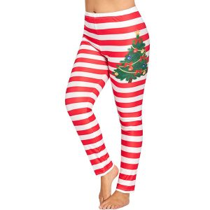 Fleece Lined Christmas Leggings