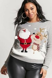 Funny Christmas Sweaters Plus Size