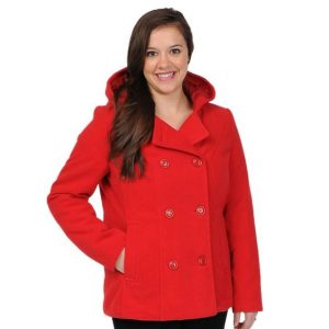 Hooded Red Trench Coats