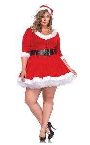 Plus Size Christmas Costume