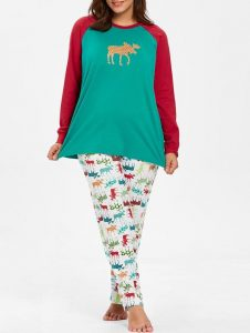 Plus Size Christmas Pajamas Pants