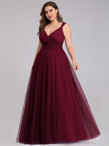 Plus Size Christmas Party Gown