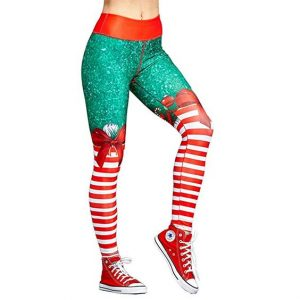 Plus Size Christmas Yoga Pants