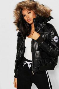 Plus Size Cropped Puffer Jackets