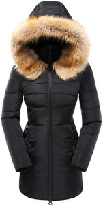 Plus Size Down Parka Puffer Jacket
