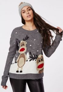 Plus Size Funny Christmas Sweaters