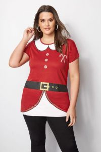 Plus Size Ugly Christmas Tunic
