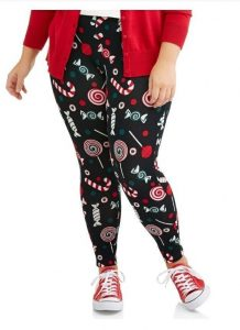 Plus Sized Christmas Leggings