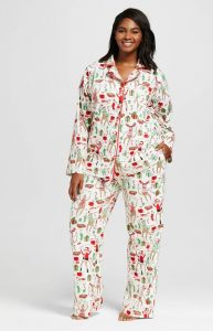 Plus Sized Christmas Pajamas