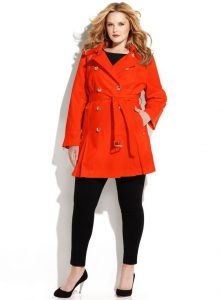 Red Trench Coat For Women