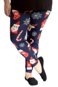 Women's Plus Size Christmas Leggings