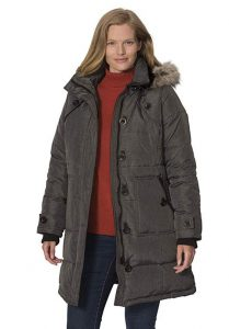 Women's Plus Size Down Filled Coats