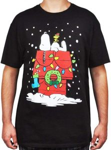 Black Christmas Shirt Men Plus Size