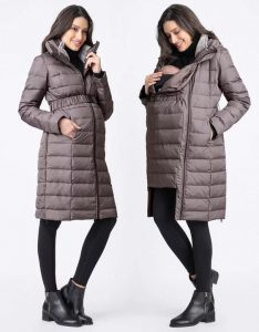 Maternity Puffer Winter Coat