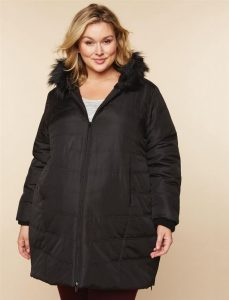 Maternity Winter Coat Plus Size