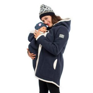 Maternity Winter Coat With Hood
