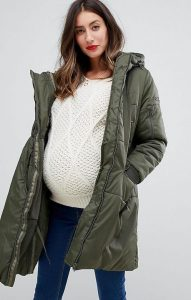 Maternity Winter Jacket For Plus Size