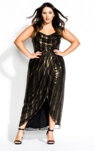 New Year's Plus Size Dresses