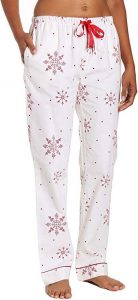 Plus Size Christmas Pajama Bottoms