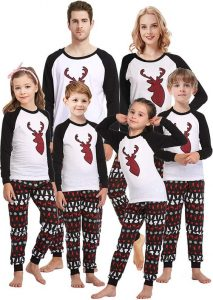 Plus Size Christmas Pajamas Family