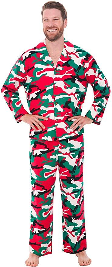 Plus Size Christmas Pajamas for Men