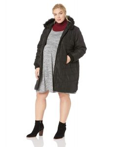 Plus Size Maternity Winter Coat