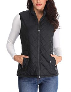Quilted Winter Vests in Plus Size