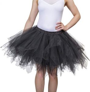 Short Tulle Skirt Plus Size