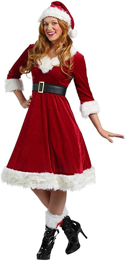 Women's Plus Size Santa Claus Costume