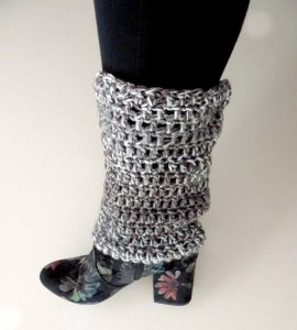 Crochet Leg Warmers For XL