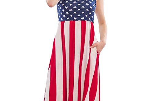 Patriotic Plus Size Dress