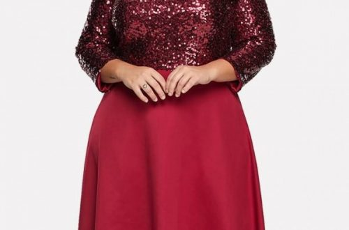 Plus Size Valentine's Day Dress