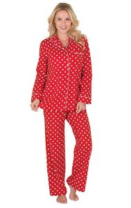 Plus Size Valentines Day Pajamas