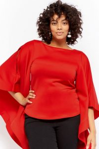 Red Party Tops For Valentines Day