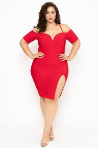 Sexy Bodycon Dress For Plus Size