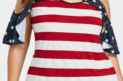 Women's Plus Size American Tops