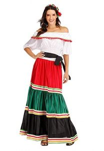Mexican Skirt and Blouse