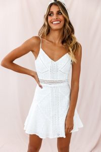 Short Wedding Sundress