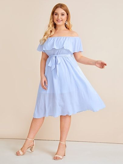 Off Shoulder Summer Dresses