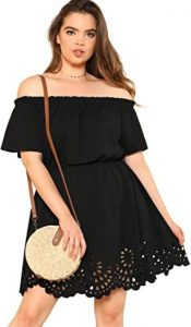 Plus Size Black Summer Outfit