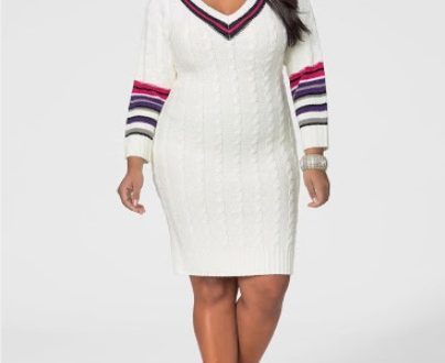 Knee Length Sweater Dresses