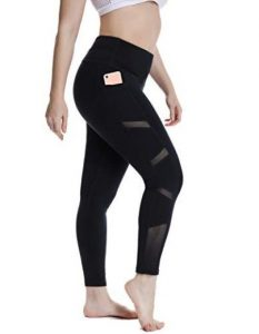 Breathable Yoga Pants With Pockets