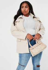 Long Leather Coats For Plus Size