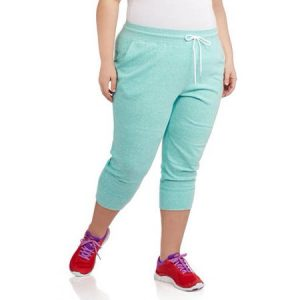 Plus Size Capri Joggers For Women