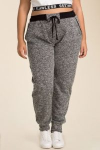 Plus Size Women's Track Pants
